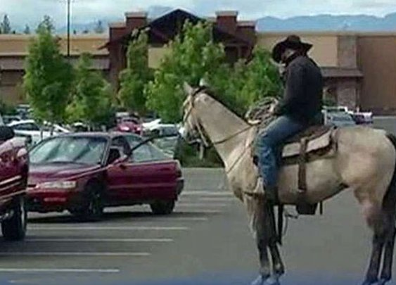 Rancher lassos Walmart bike thief