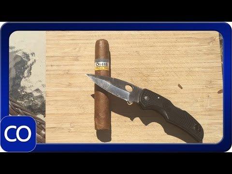 Cuban Cohiba Cut Open Real Or Fake - YouTube
