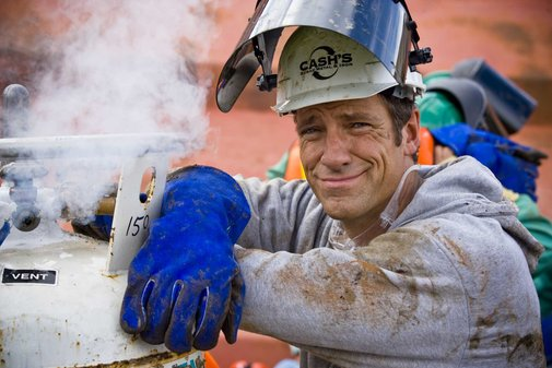 That Time Mike Rowe Drank Scotch With Ron Swanson
