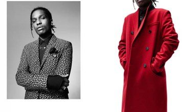 Rapper A$AP Rocky fronts Dior Homme's fall-winter 2016 campaign