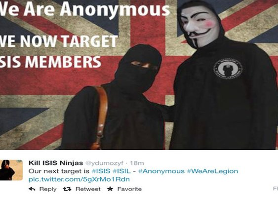 Anonymous Strikes ISIS Twitter Feed, Floods It With Gay Porn