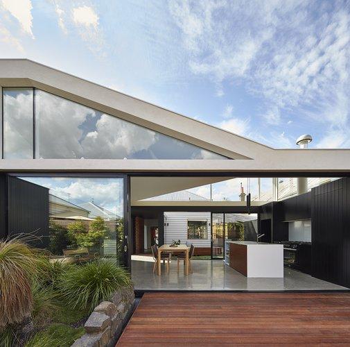 An Addition Creates a Sublime Indoor-Outdoor Space Behind an Old Edwardian | Dwell