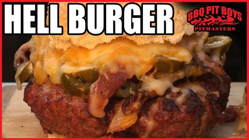 Hell Burger Bacon Cheeseburger