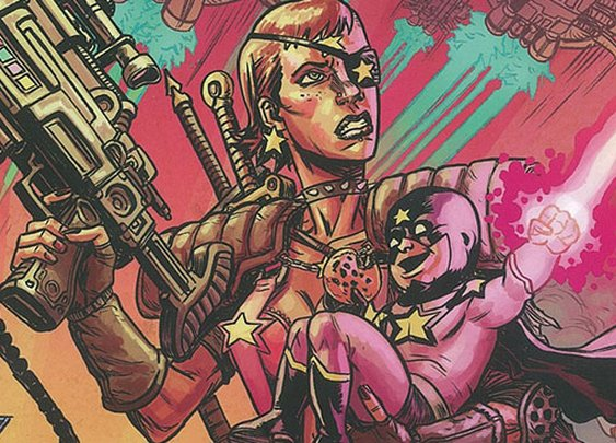 8 of the Weirdest Sci-Fi Comics Ever Conceived
