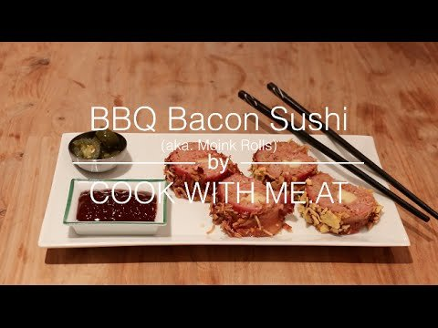 How to Make Bacon Sushi
