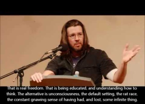 This Is Water - Full version-David Foster Wallace Commencement Speech - YouTube