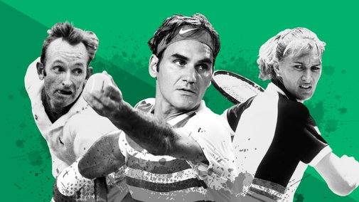 Tennis' top 20 of all time