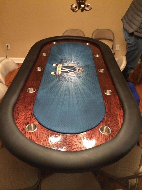 Poker Table Build - DIY