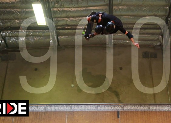 Tony Hawk Lands 900 At 48!