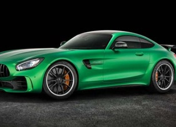 The Mercedes-AMG GT R Is a 577-HP Monster