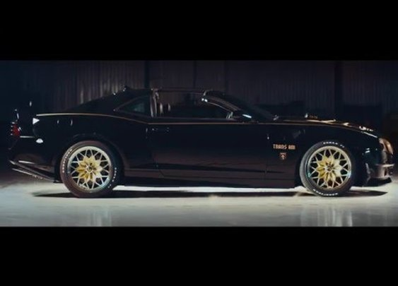 Burt Reynolds Introduces the NEW Bandit Trans Am