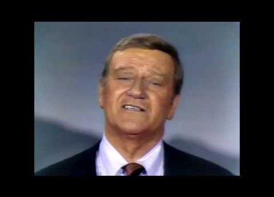 John Wayne 1970 Variety Show Celebrating Americas History - YouTube