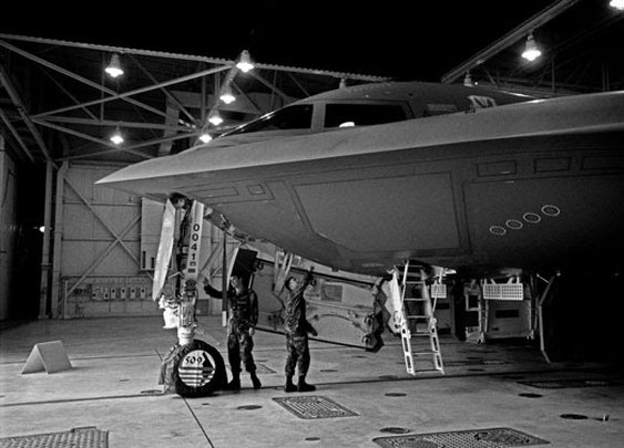 The B2 bomber: A Christmas story