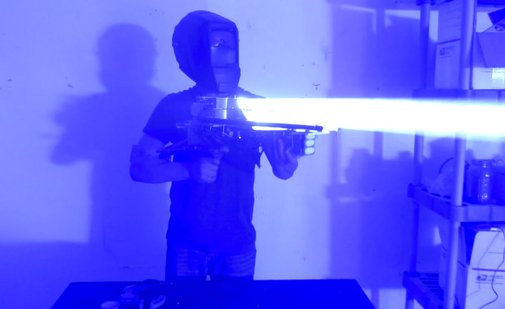 Homebuilt 200W Laser Bazooka