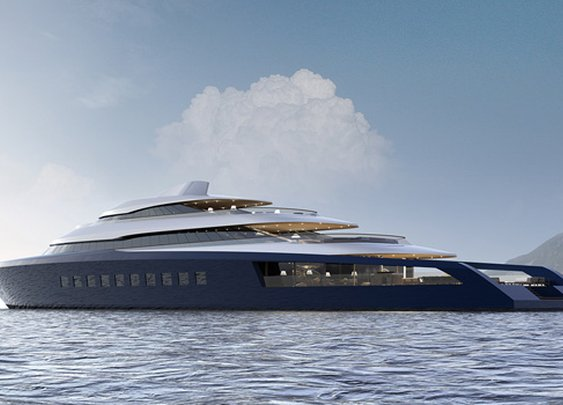 Introducing The Pastrovich 80m X-Prime Superyacht Concept