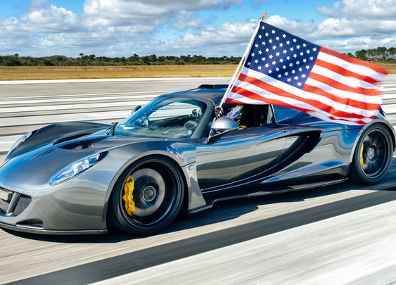The Fastest Cars in the World by Every Decade