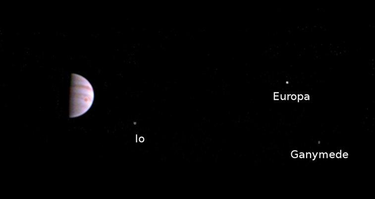 Juno's Post-arrival View | NASA