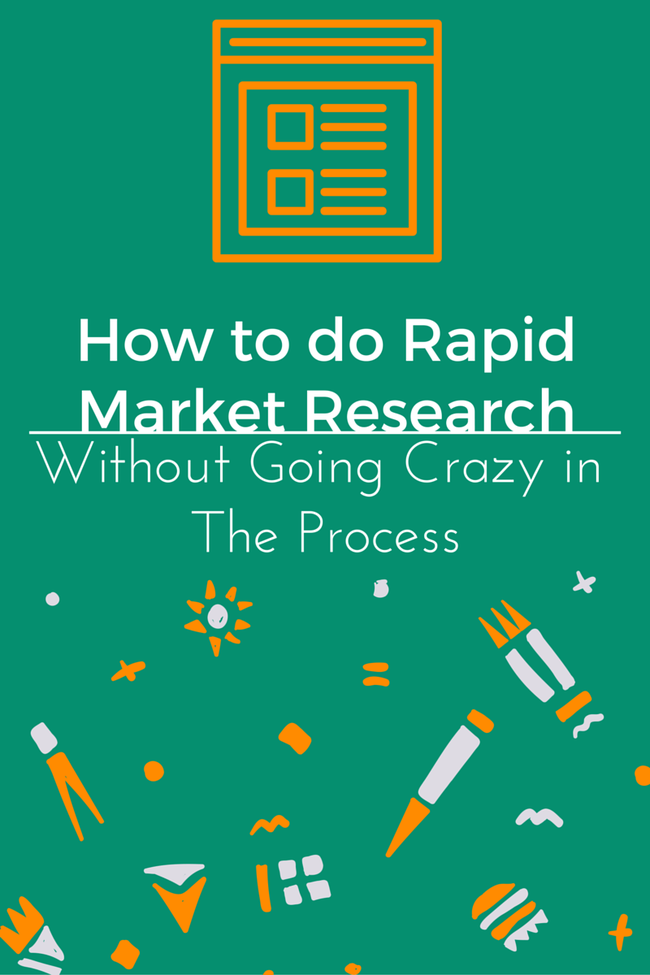 How to do Thorough Market Research WITHOUT Going Crazy - The Experiment