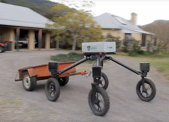 Cattle-herding robot Swagbot makes debut on Australian farms