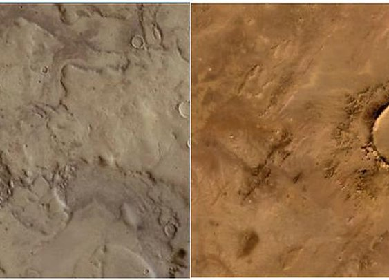 One photo is from Mars and one is from Earth- can you guess which is which? - Album on Imgur