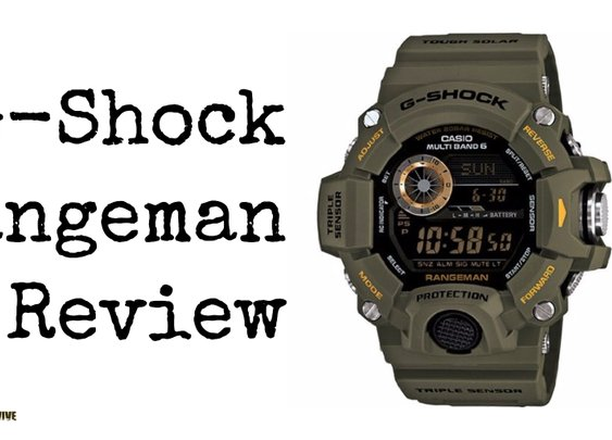 Casio G Shock Rangeman GW 9400 Master of G Tactical Watch Review