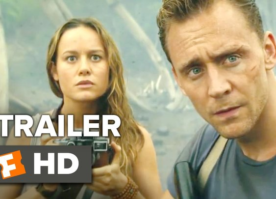 Kong: Skull Island Official Comic-Con Trailer (2017)
