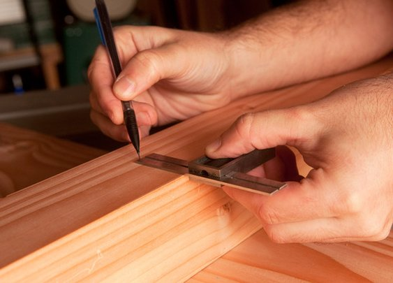 Try This Simple Trick Anytime You're Laying Out Cuts or Marks on Your Woodworking Projects