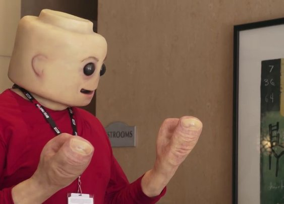 Real Life LEGO Man: Fleshy Mini-Figure Cosplay Will Freak You Out | Urbanist