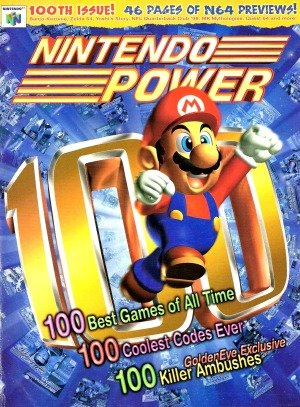 Nintendo Power: first 13 years of Nintendo Power are now available on Archive. org