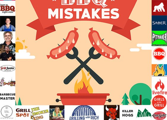 10 Barbecue Mistakes To Avoid: 25 Grilling Experts Share Their Tips