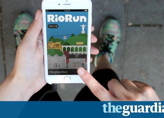 RioRun: take a virtual audio tour of Rio de Janeiro as you go | Sport | The Guardian