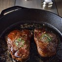 PAN-SEARED FILET MIGNON WITH GARLIC & HERB BUTTER RECIPE | The Manly Club