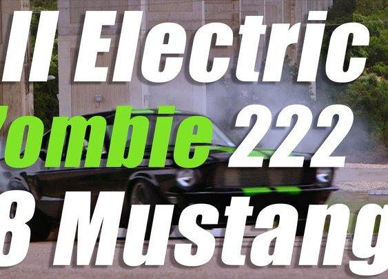 Translogic 180: Zombie 222 Electric '68 Mustang - YouTube