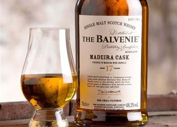Balvenie, Single Malt Scotch Whisky, Madeira Cask | The Manly Club