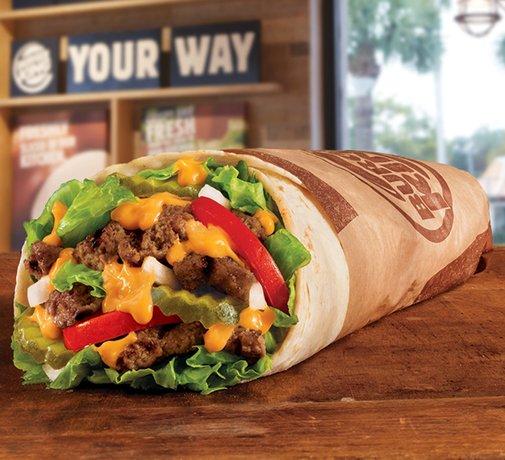 Introducing the Whopperito: Burger King Whopper Burritos