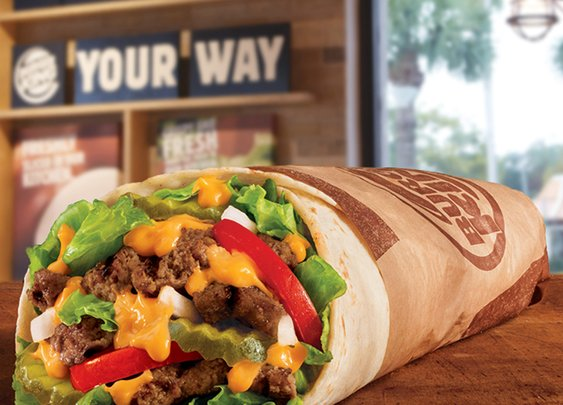 Introducing the Whopperito: Burger King Whopper Burritos