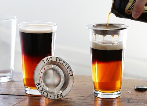 Beer Layering Tool by The Perfect Black and Tan