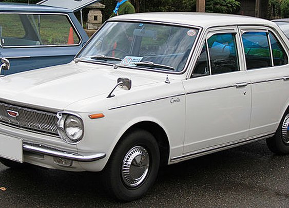 Brief History of the Toyota Corolla: OEM Wheels Spotlight