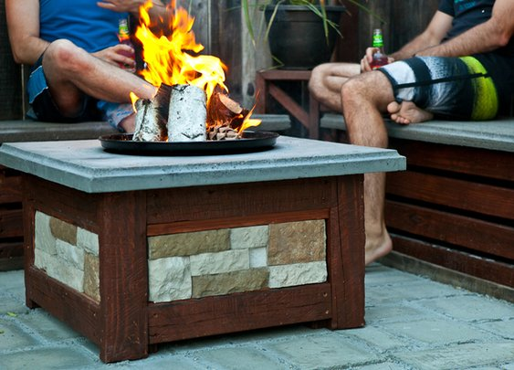 How to Make a Concrete Fire Pit That's Really Built to Last