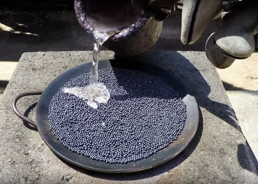 Watch Molten Salt Melt Lead   Atlas Obscura
