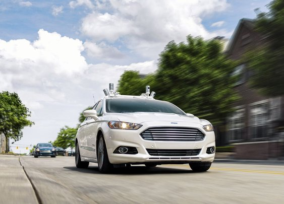 Ford plans to have a fleet of fully autonomous cars operating in a ride-hail service by 2021