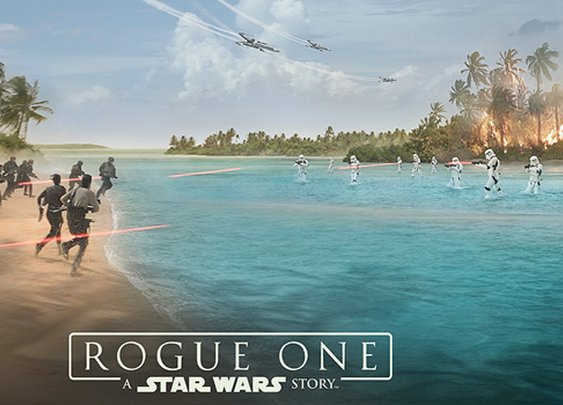 Check Out The Official Trailer For 'Rogue One: A Star Wars Story'