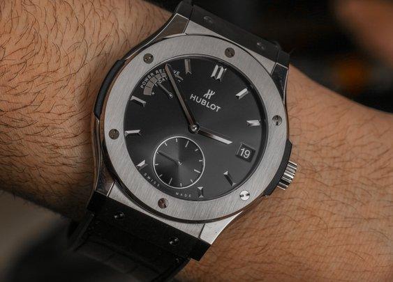 Hublot Classic Fusion Power Reserve Titanium Watch Review | aBlogtoWatch