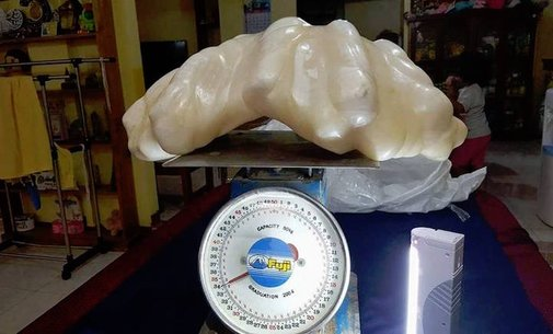 Fisherman Finds 75-Pound Pearl and Keeps It Under His Bed for 10 Years as Good Luck Charm