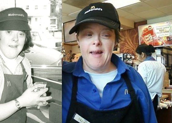 McDonald's worker with Down syndrome retires after 32 years