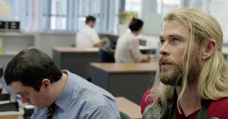 Watch Thor Explain 'Civil War' Absence in Hilarious Short - Rolling Stone