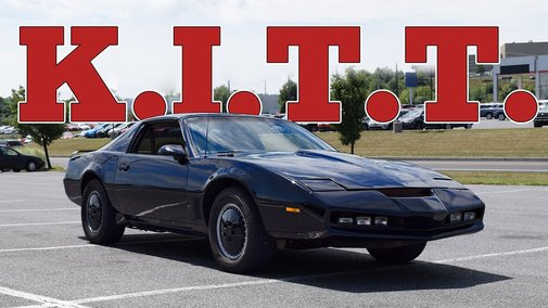 1982 Knight Industries Two Thousand: Regular Car Reviews - YouTube