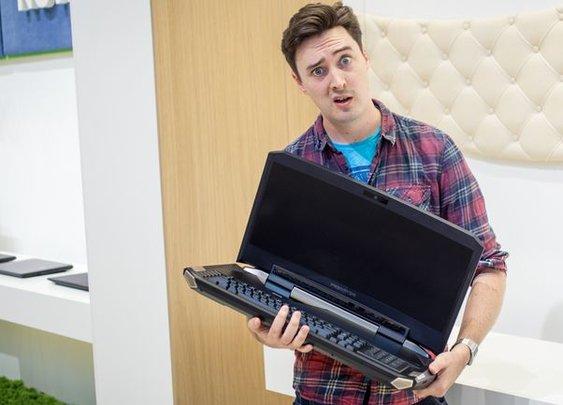 The Acer Predator 21X - CNET