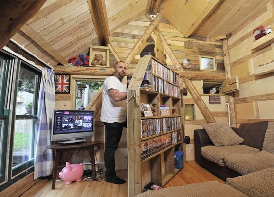 Shed of the Year 2016: West Wing owned by Kevin Herbert crowned as winner