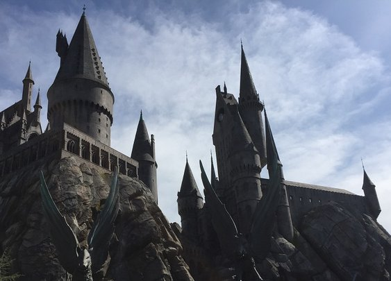 A Visit to THE WIZARDING WORLD OF HARRY POTTER at Universal Hollywood | Nerdist